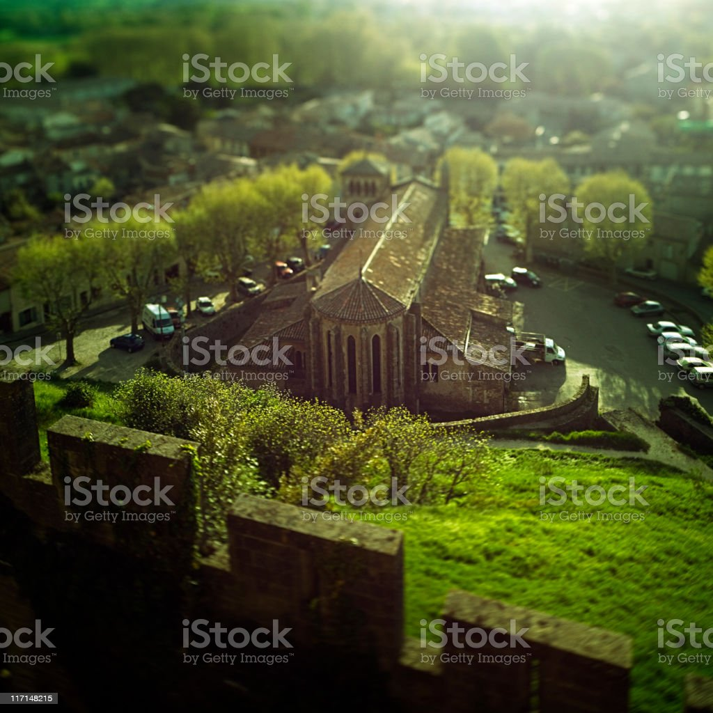 Medieval church royalty-free stock photo