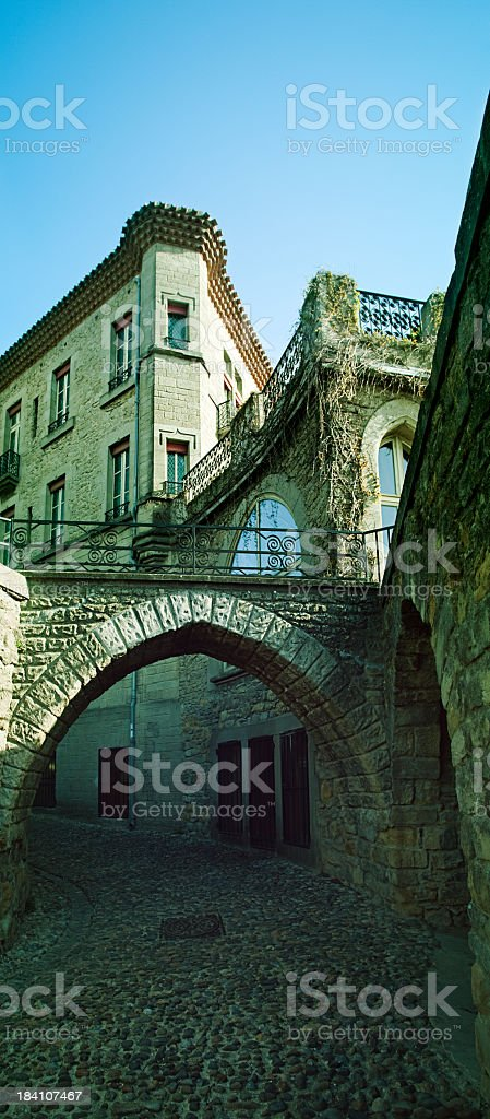 Medieval city royalty-free stock photo