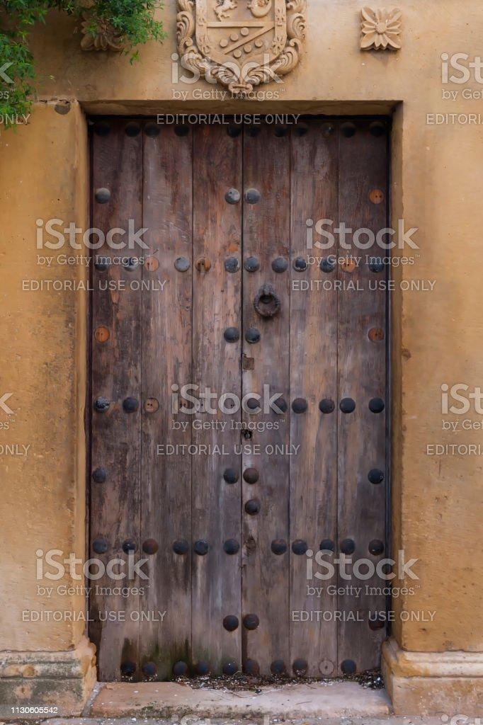 Mittelalterliche Tür, Ronda – Foto