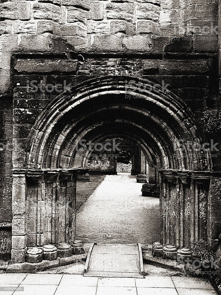 Medieval Doorway royalty-free stock photo