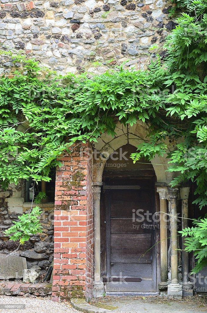 Medieval Doorway royalty-free stock photo