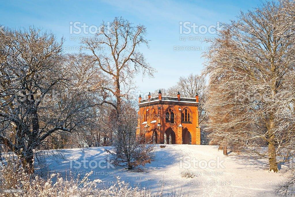 Mittelalterliche gotische Gebäude – Foto