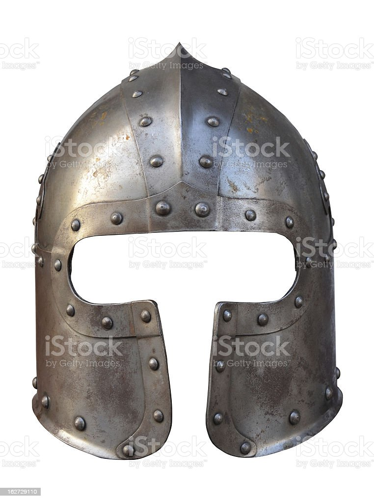 Medieval Helmet royalty-free stock photo