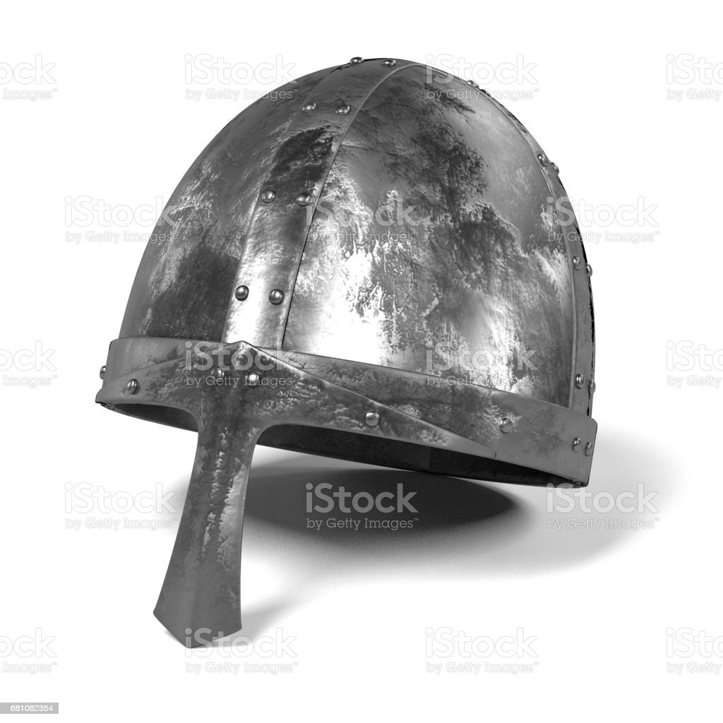 medieval helmet royalty-free stock photo
