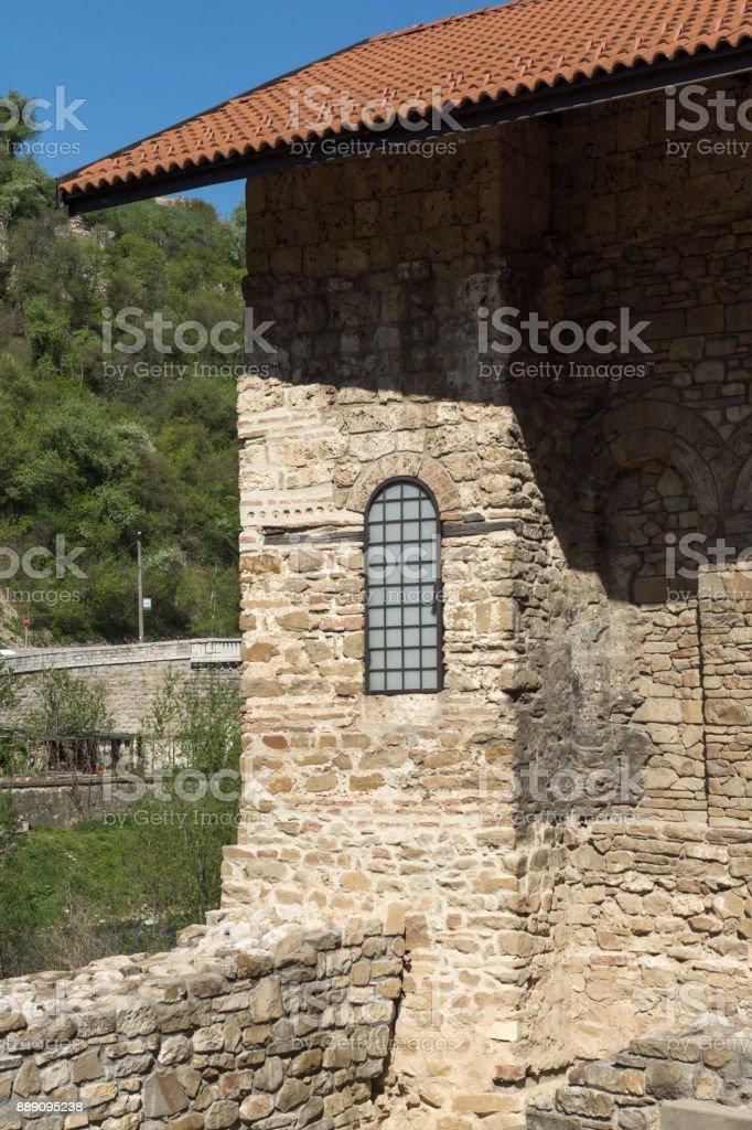 Medieval Holy Forty Martyrs Church in city of Veliko Tarnovo, Bulgaria stock photo