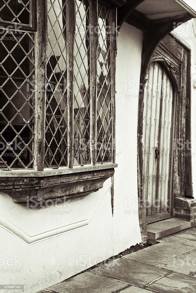 Medieval house royalty-free stock photo