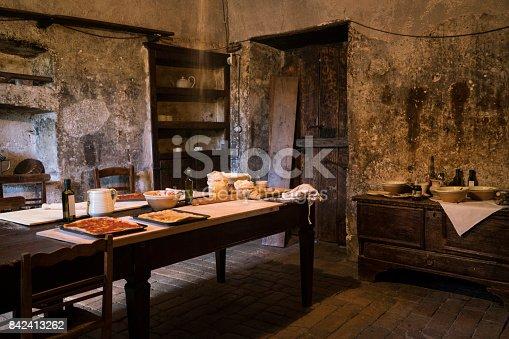 Medieval Kitchen In Abruzzo Stock Photo & More Pictures of Abruzzi ...