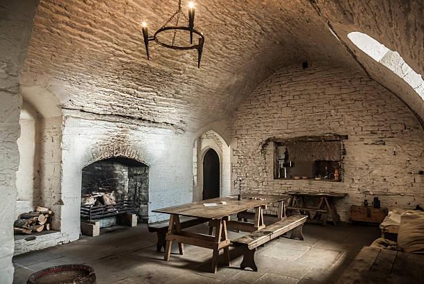 Medieval Kitchen stock photo