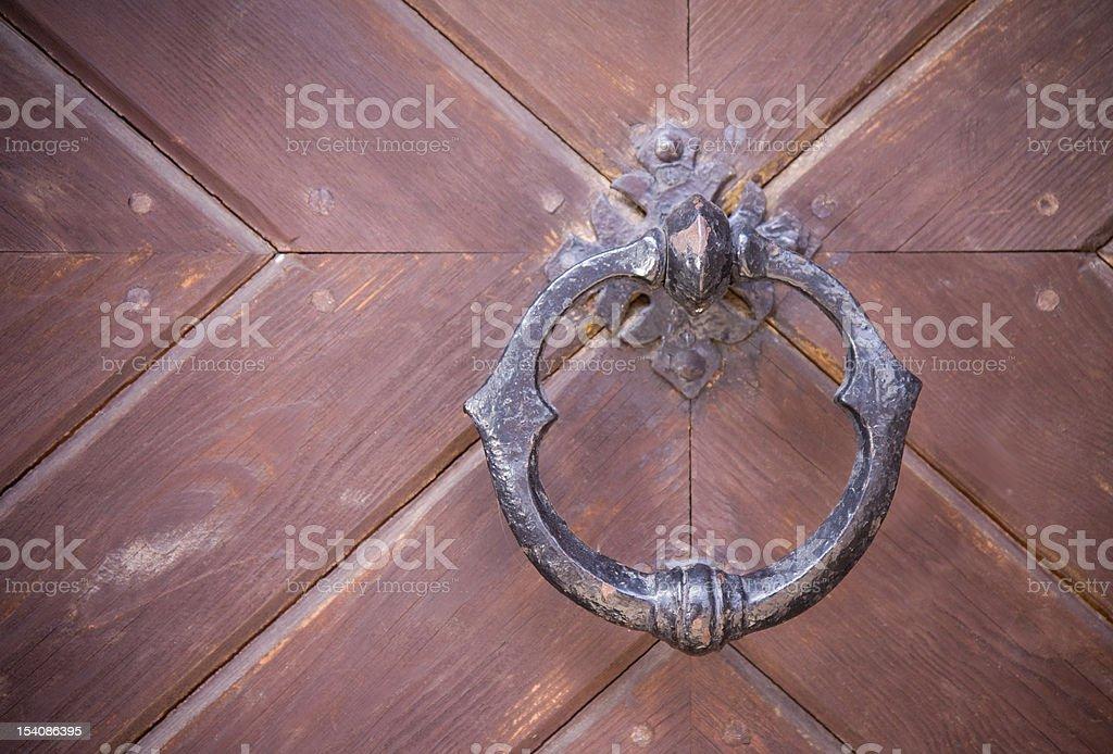 Medieval knocker royalty-free stock photo