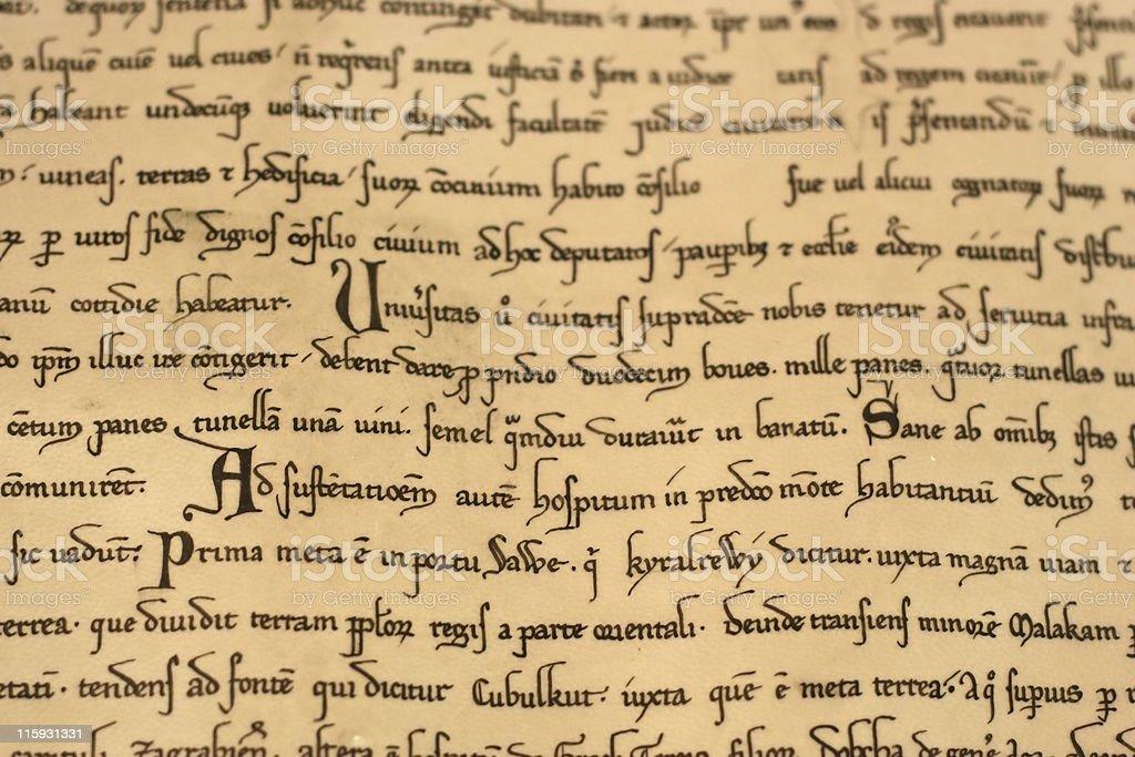 Medieval Latin Script 37
