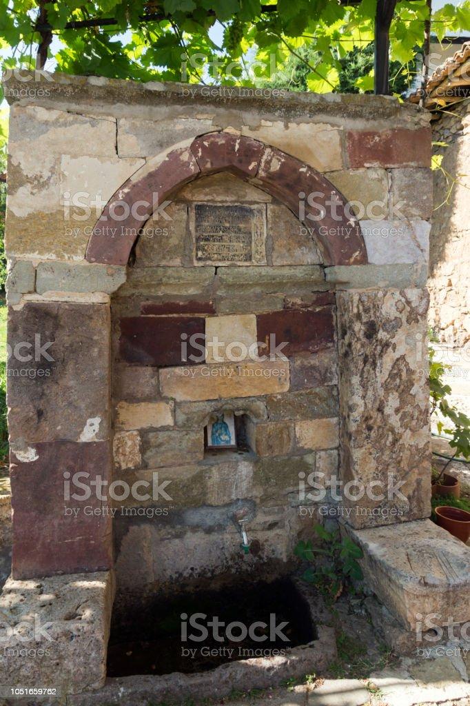 Mittelalterliche Lesnovo Kloster des Hl. Erzengel Michael und St. Einsiedler Gabriel von Lesnovo, Republik von Mazedonien – Foto