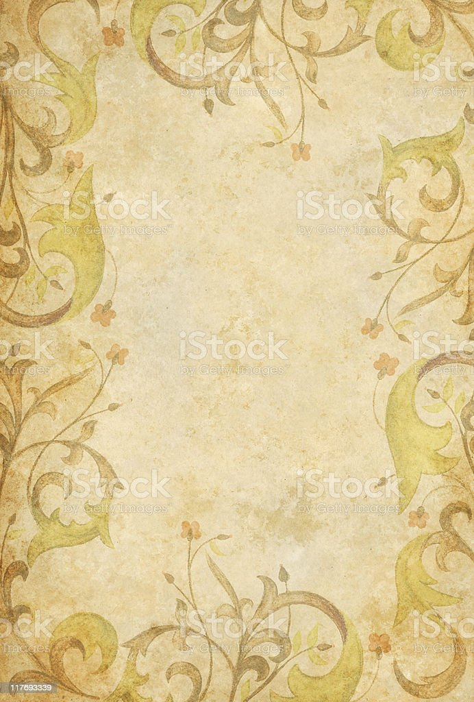 medieval old paper royalty-free stock photo