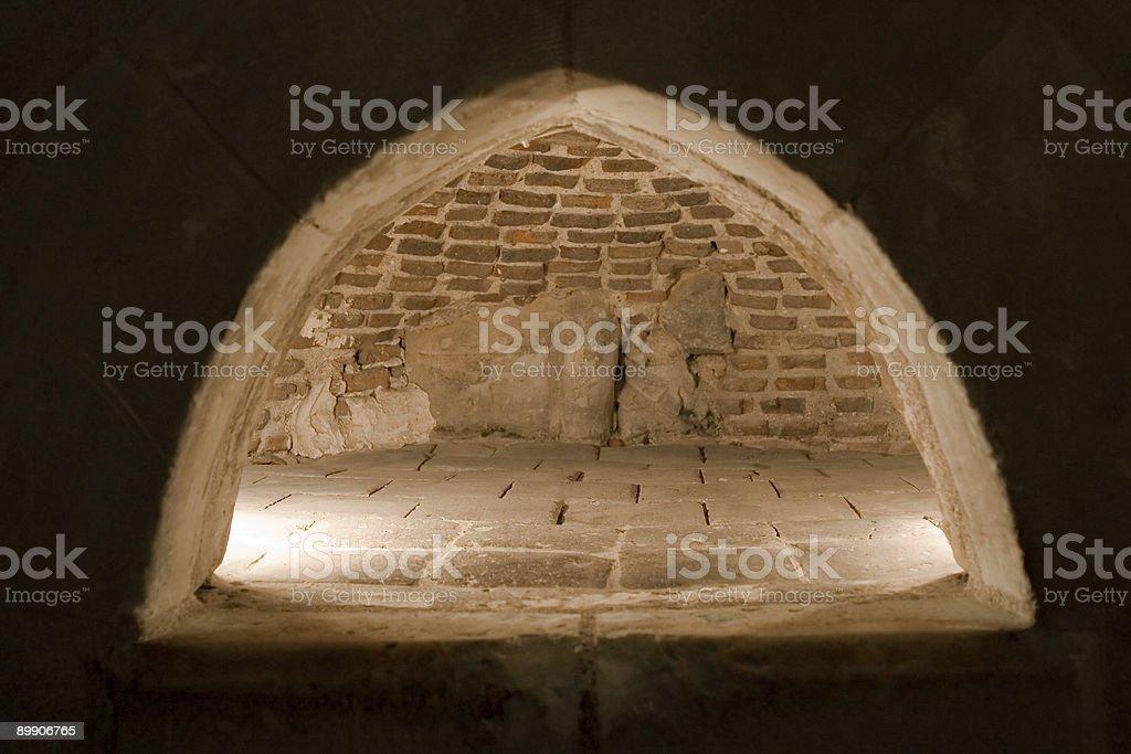 Средневековая печь Стоковые фото Стоковая фотография
