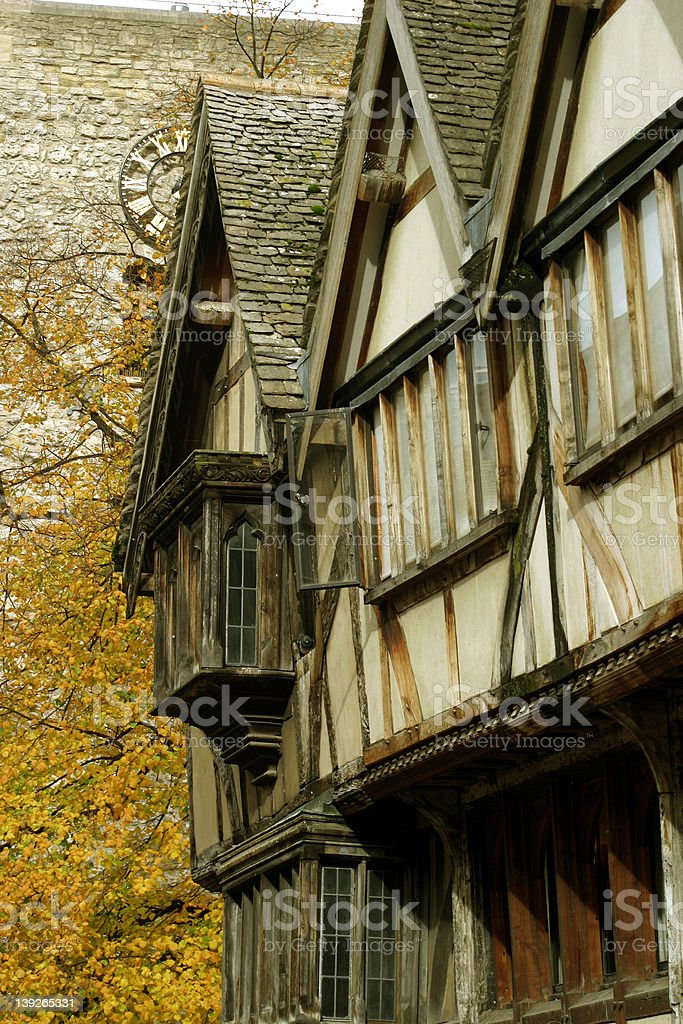 Medieval Oxford royalty-free stock photo