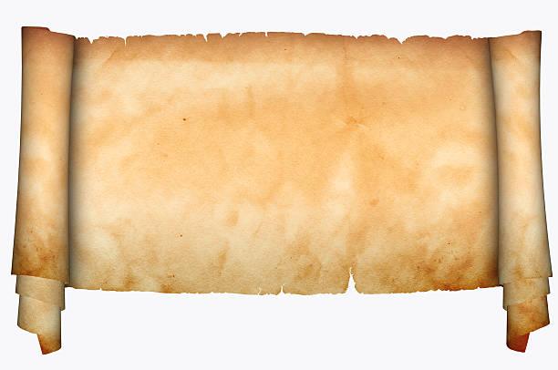 Papyrusrolle Hintergrund