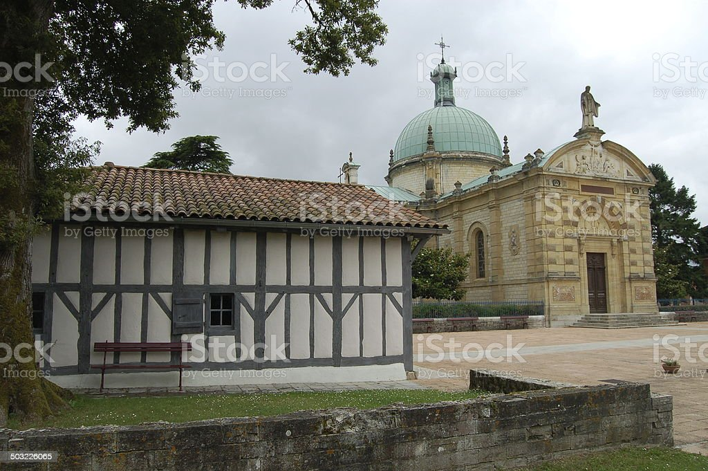 Medieval Ranquines Home of Saint Vincent de Paul, France stock photo
