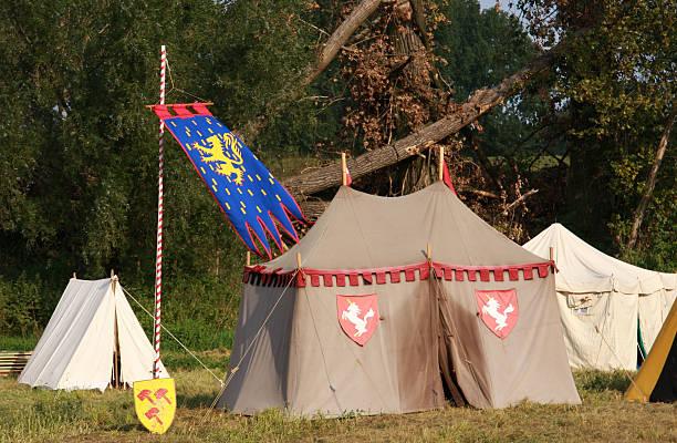 medieval renacimiento - foto de stock