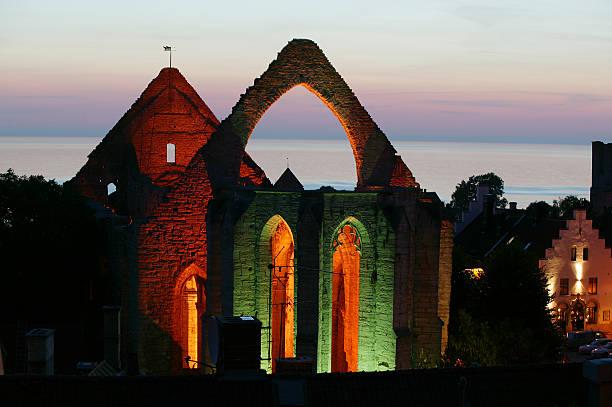 Mittelalterlichen Ruinen St.Katarina in Visby.JH – Foto