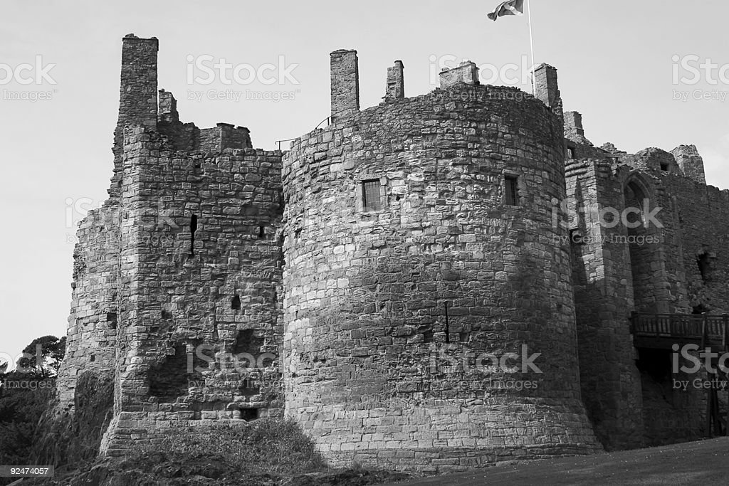 Medieval Ruins 2 royalty-free stock photo