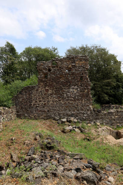 Medieval Ruins in Georgia stock photo