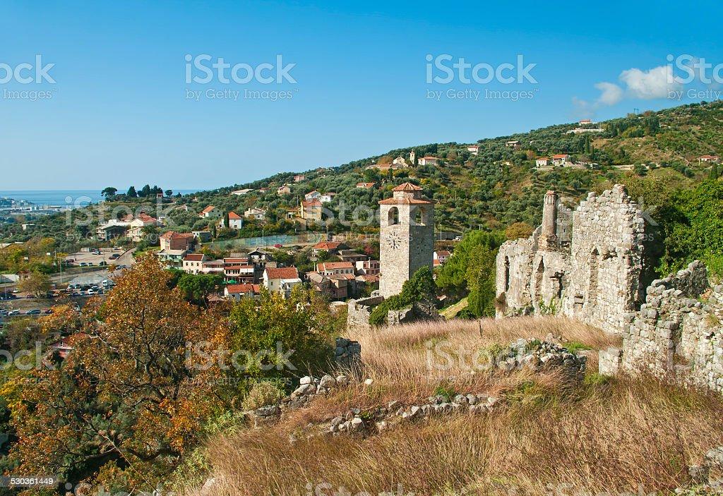 Ruinas medievales - foto de stock