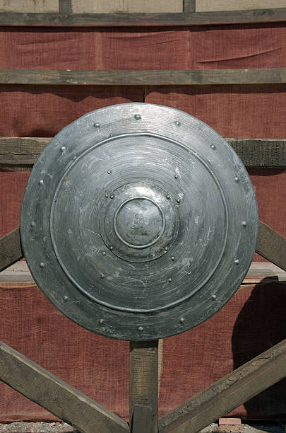 Mittelalterliche shield – Foto