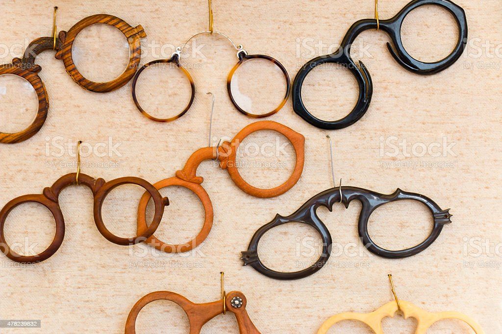 Medieval Spectacles stock photo