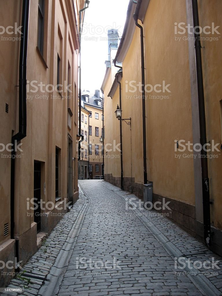 Medieval street royalty-free stock photo