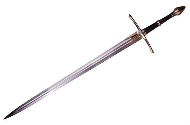 średniowieczny miecz - sword zdjęcia i obrazy z banku zdjęć