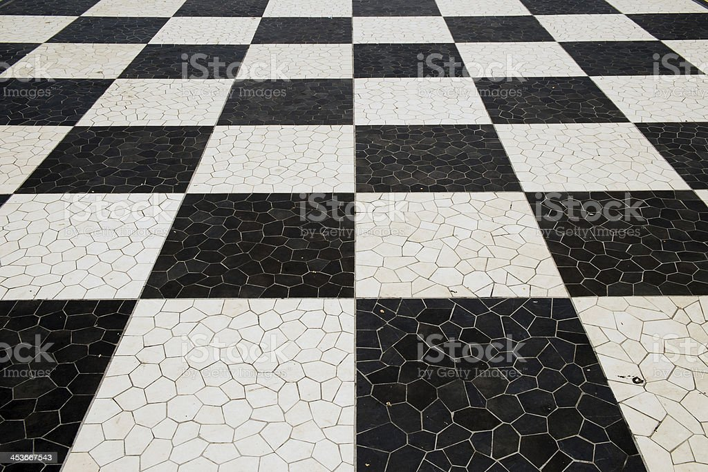 Medieval Tiled Floor royalty-free stock photo