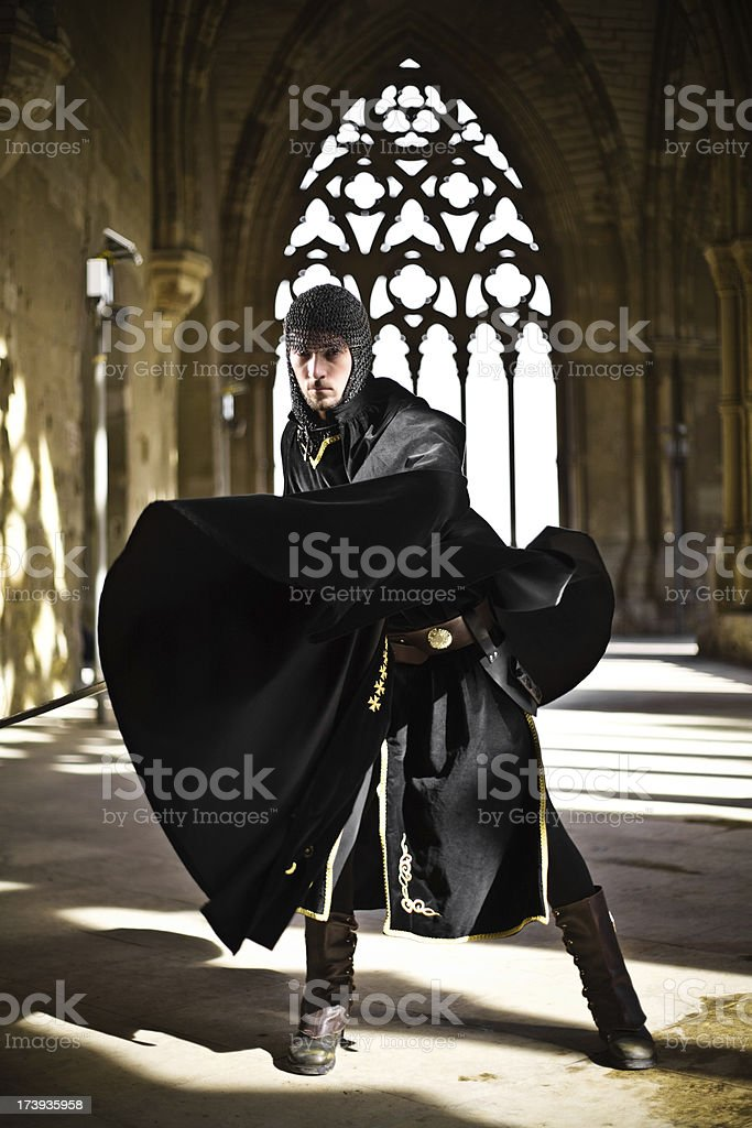 Medieval Times Knight stock photo