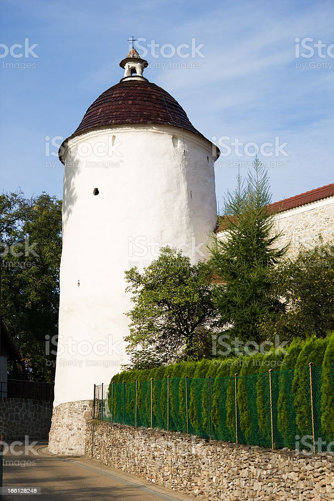 Medieval Tower. 13th Century. royalty-free stock photo