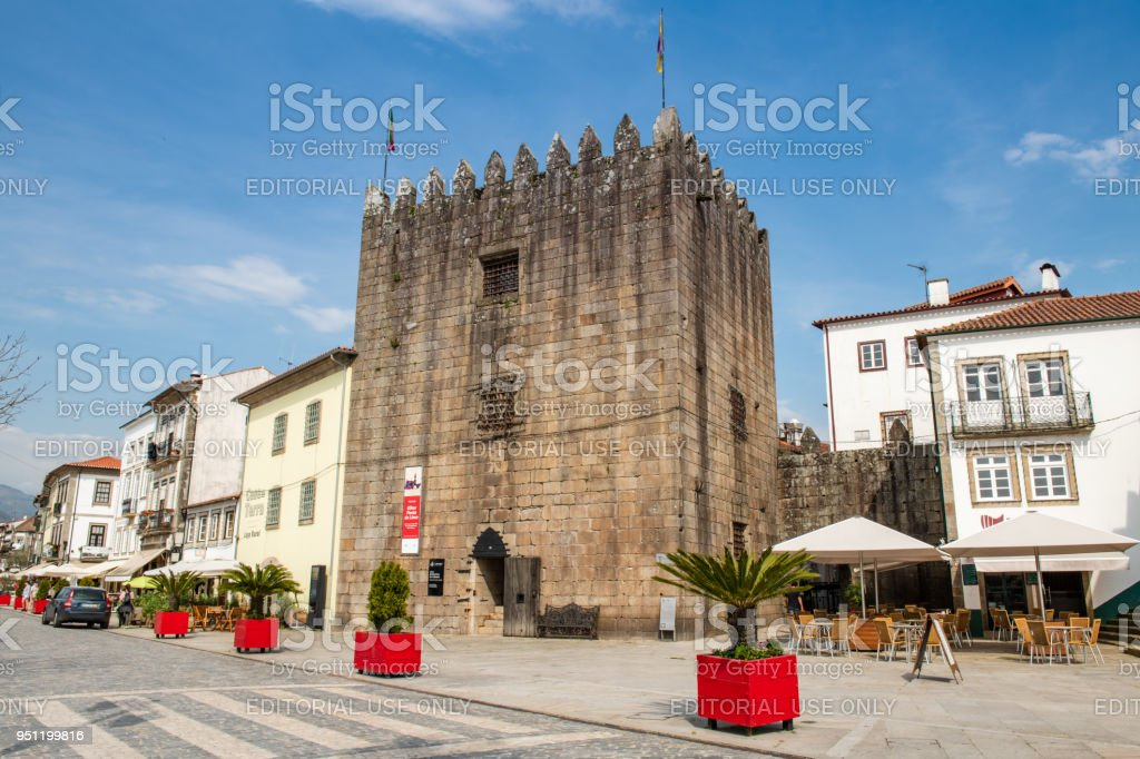 Medieval Tower of the Old Jail stock photo