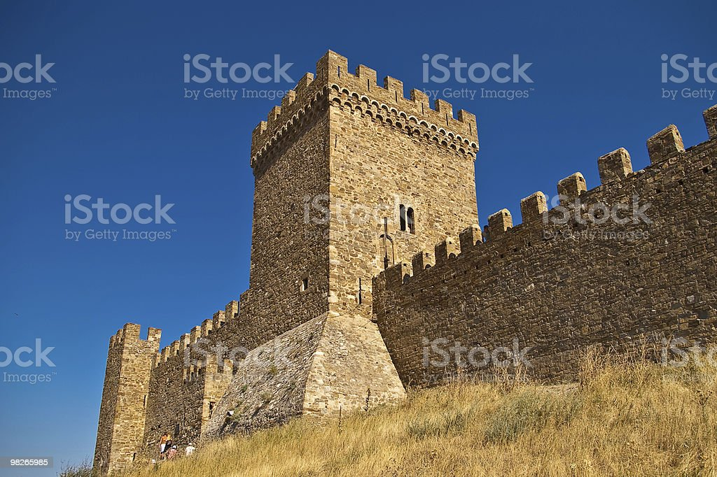 medieval tower royalty-free stock photo