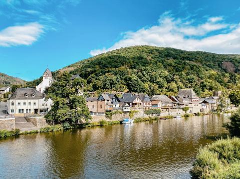 Medieval town Dausenau in Rhineland-Palatinate, Germany