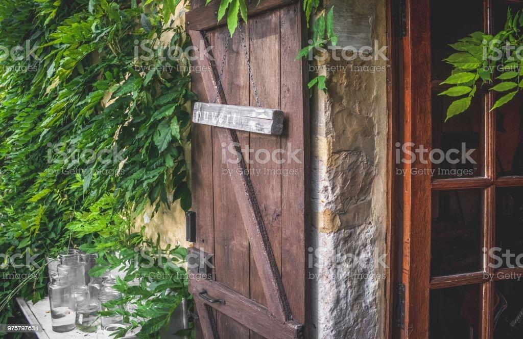 Mittelalterliche Stadt Rocamadour - Lizenzfrei Alt Stock-Foto