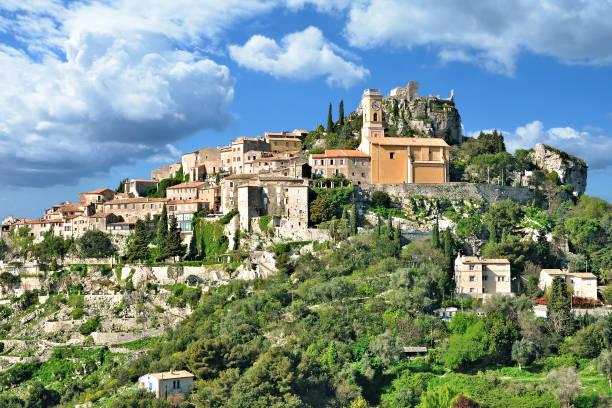 mittelalterliche Dorf Eze, Côte d ' Azur, Frankreich – Foto