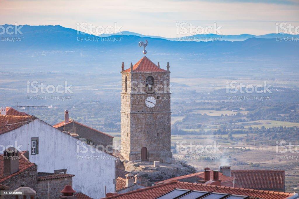 Pueblo medieval de Monsanto. Portugal - foto de stock