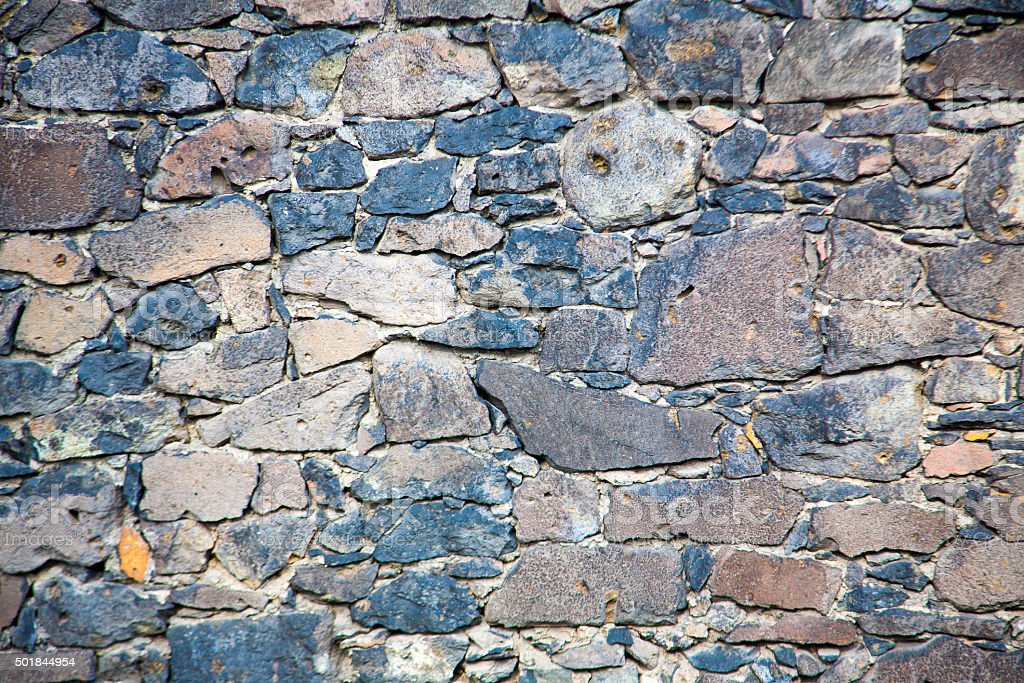Medieval Wall Backgorund stock photo