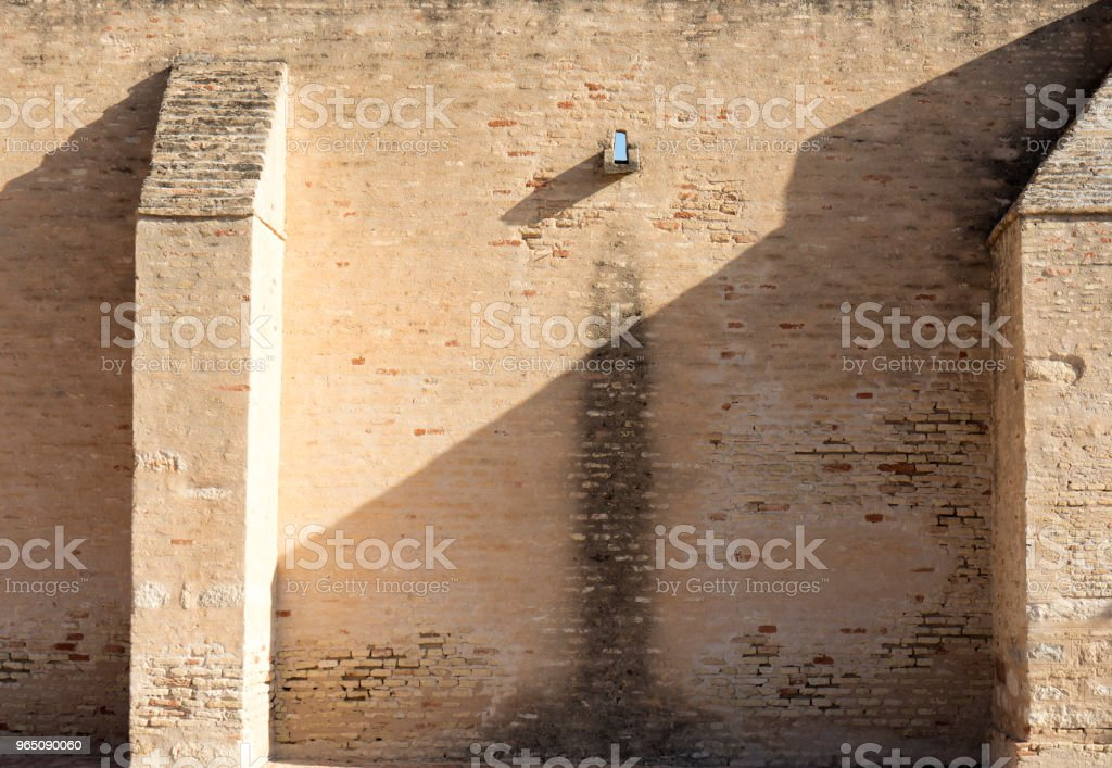 medieval wall royalty-free stock photo