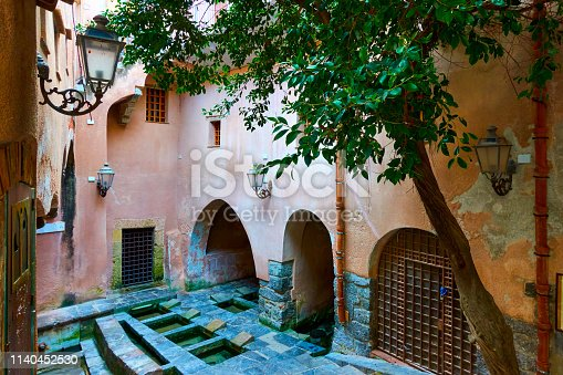 istock Medieval wash house in Cefalu 1140452530