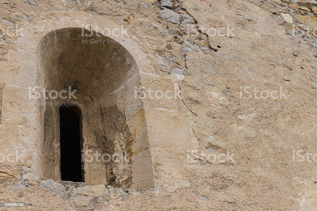 Mittelalterliche Fenster – Foto