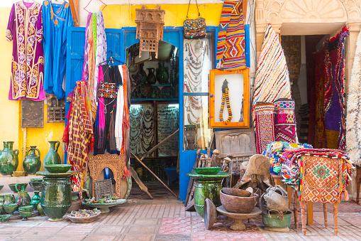 摩洛哥的亞拉麥迪那地區 照片檔及更多 中古時代 照片
