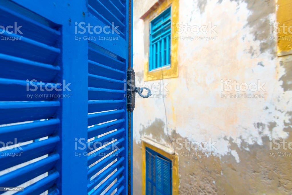 Medina District of Essaouira in Morocco zbiór zdjęć royalty-free