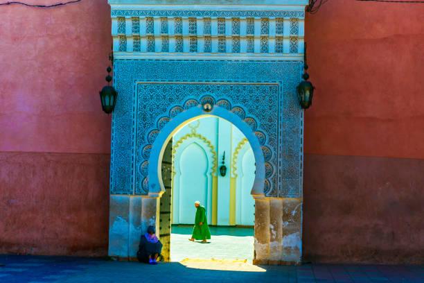 Tor der Medina in Marrakesch, Marokko – Foto