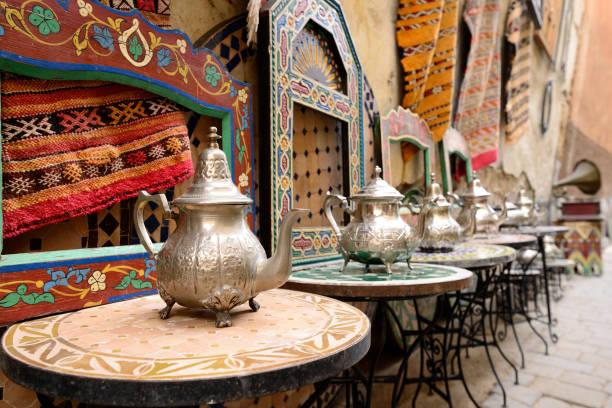 Medina en Marruecos - foto de stock