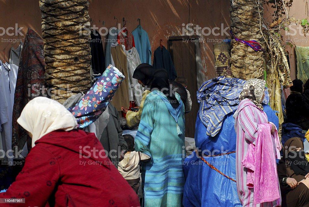 Medina Marrakesh royalty-free stock photo