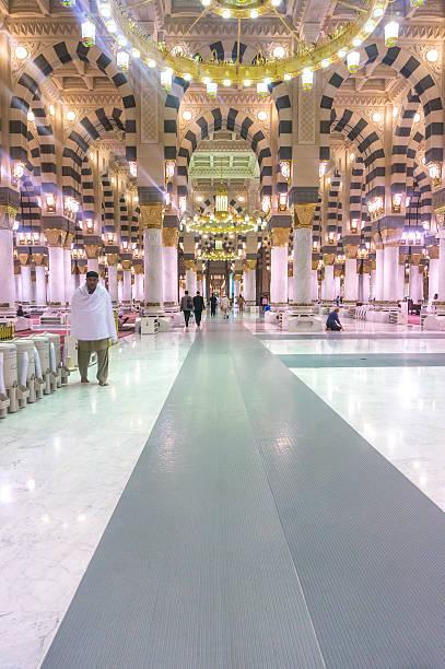 mosquée de la médina - omra photos et images de collection
