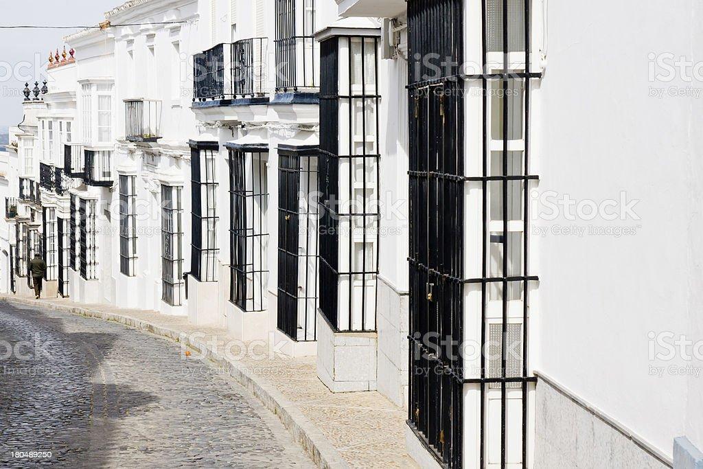 Medina Sidonia in Cadiz, Andalucia, Spain royalty-free stock photo