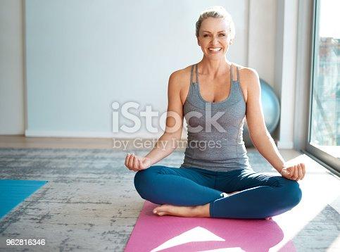 istock Meditation always lifts my spirits 962816346